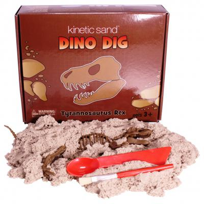 Kinetic Sand Dino Dig T-Ric & T-Rex