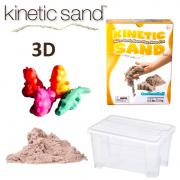Kinetic Sand 3D Tiere Set - 2,5 kg