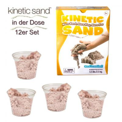Kinetic Sand ® * in der Dose 12er Set